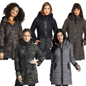 Details about Khujo Daily Parka Womens Winter Parka Winter Jacket Quilted Jacket Coat Quilted show original title