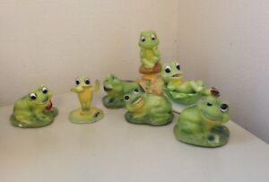 7Pc Frog Collection - Josef's Originals