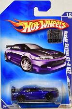 HOT WHEELS 2009 DREAM GARAGE NISSAN SKYLINE GT-R R32 #10/10 BLUE FACTORY SEALED