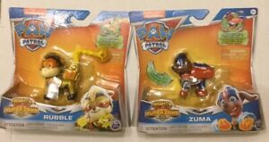 New PAW PATROL Nickelodeon Mighty Pups Super Paws ZUMA Action Pup USA Seller