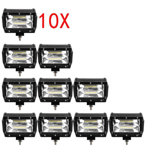 Arbeitsscheinwerfer LED 72W Offroad Scheinwerfer Flutlicht SUV LKW IP67 12-24V