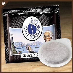 50-Cialde-Caffe-Borbone-filtrocarta-44mm-ESE-miscela-nera-OFFERTA-PRIMO-PREZZO