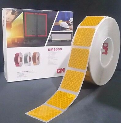 Conspicuity Tape 50m x 50mm Roll ECE-104 DM Reflective HGV Truck Trailer Lorry