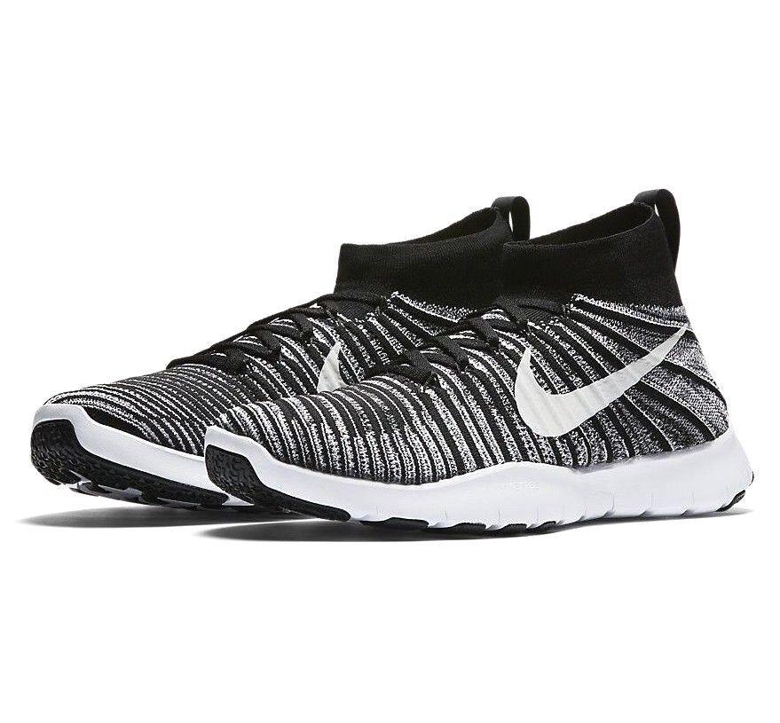 Nike free zug kraft flyknit schwarz / / / weiß
