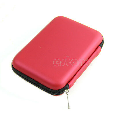 "For 2.5"" USB External WD HDD Hard Disk Drive Protect Hand Carry Case Cover Pouch"