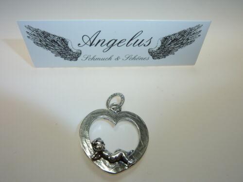 angel en el corazón tirados Giovanni Raspini 925 plata colgante #6098 Ángel
