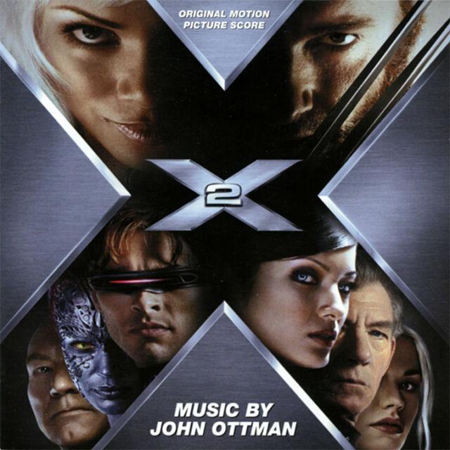 X2 Original Motion Picture Score by John Ottman CD (2003 Superb) X-MEN 2 MOVIE