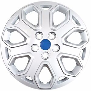 NEW-2012-2013-2014-Ford-FOCUS-16-034-Replacement-Silver-Wheelcover-Hubcap-Bolt-on