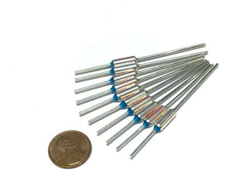 10 Pieces TF   165C 329F Thermal Fuse cutoff ry mini micro metal 15A 250V A30