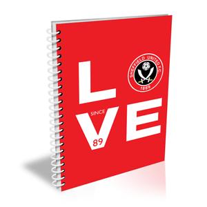 DéVoué Sheffield United F.c - Personnalisé Pour Ordinateur Portable (love)-afficher Le Titre D'origine Couleurs Harmonieuses
