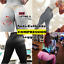 thumbnail 4 - Women Push Up Leggings Yoga Pants Anti Cellulite Jogging Ruched Scrunch Trousers