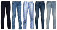 Girls Slim, Skinny Leg Jeans 5 Colours, Childrens Clothing Ages 2 - 14 years RL