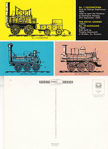NUMBER-1-LOCOMOTION-MINT-UNUSED-COLOUR-POSTCARD-BY-DENNIS