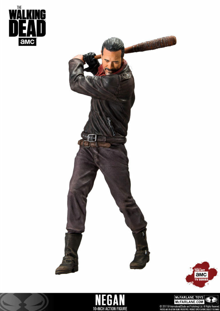 The WALKING DEAD  NEGAN with LUCILLE DELUXE 10″ Action Action Action Figure McFARLANE 5ce6c0