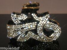 New Gorgeous Hair Clip Claw w Shiny Swarovsky Crystals Jewelry Hair Accessories