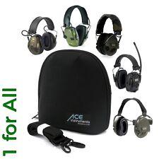 ACE Gehörschutztasche, u.a. f. MSA Sordin, Howard Leight Impact Sport & Sync