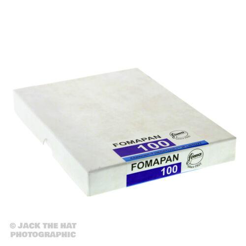 """8 /""""x 10/"""" de gran formato negro y blanco película con cámara de 8 X 10 50 Hojas De Fomapan 100"""