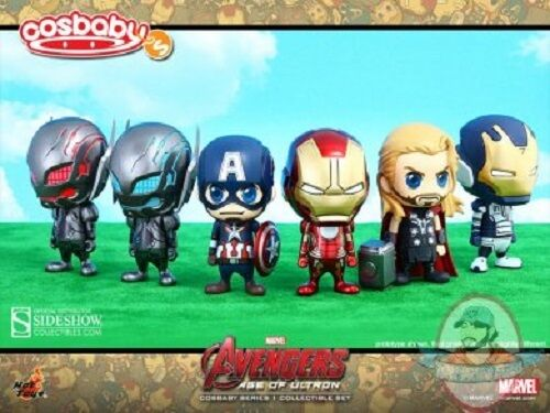 Marvel Avengers Age of Ultron Cosbaby Collectible Set Hot Toys