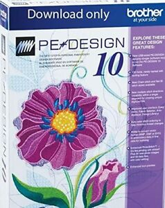 Instant Delivery Brother Pe Design 10 Embroidery Full Software 2020 Free Gifts Ebay
