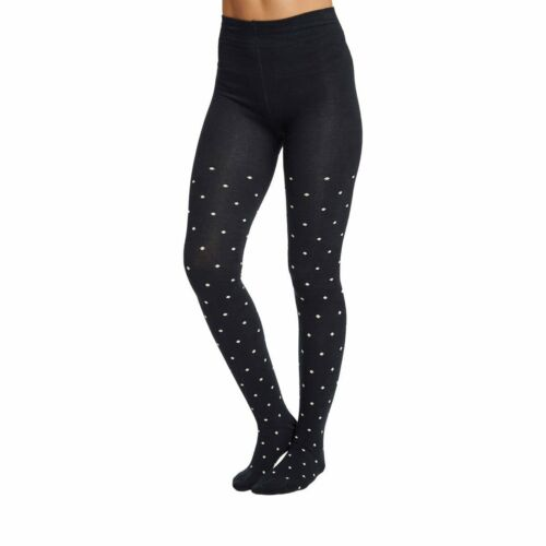 Grace women/'s super-soft warm bamboo tights in midnight By Thought