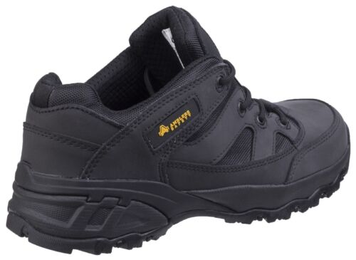 Fs68c Up Safety Unisex Leather Black Composite Fully Amblers Trainers Lace dwxnqYaazp