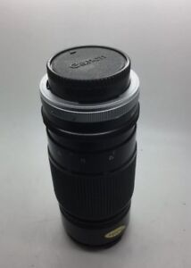 Canon-FD-80-200mm-1-4-S-S-C-Zoom-Lens-Japan-Works-Great