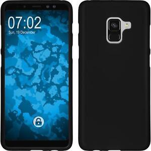 Funda-de-silicona-Samsung-Galaxy-A8-2018-Plus-estera-negro-Case
