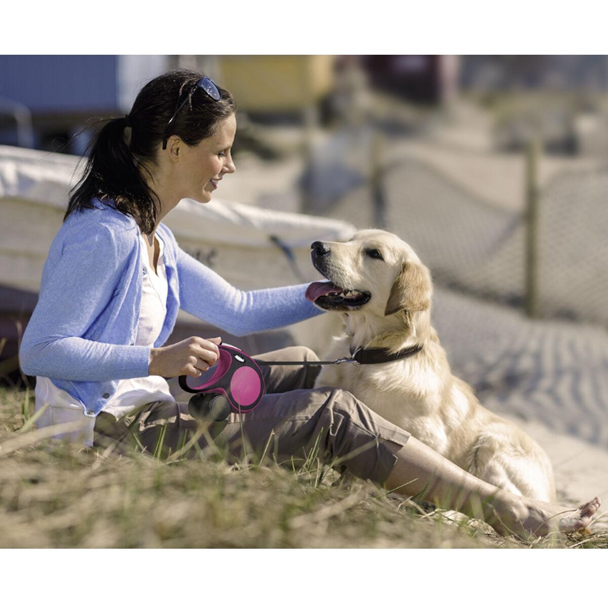 FLEXI FLEXI FLEXI NEW COMFORT Gurtleine Gurt Rollleine Hundeleine Automatik Leine Hunde  | Hochwertig  d3cda4