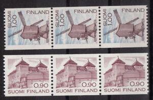 FINNLAND-Mi-891-919-c-Werte-3er-Streifen-MNH-ansehen-MW-3-30-I235-1