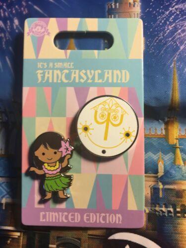 HULA DANCER CLOCK FACE 2 Pin It/'s A Small Fantasyland Series Disneyland LE1000