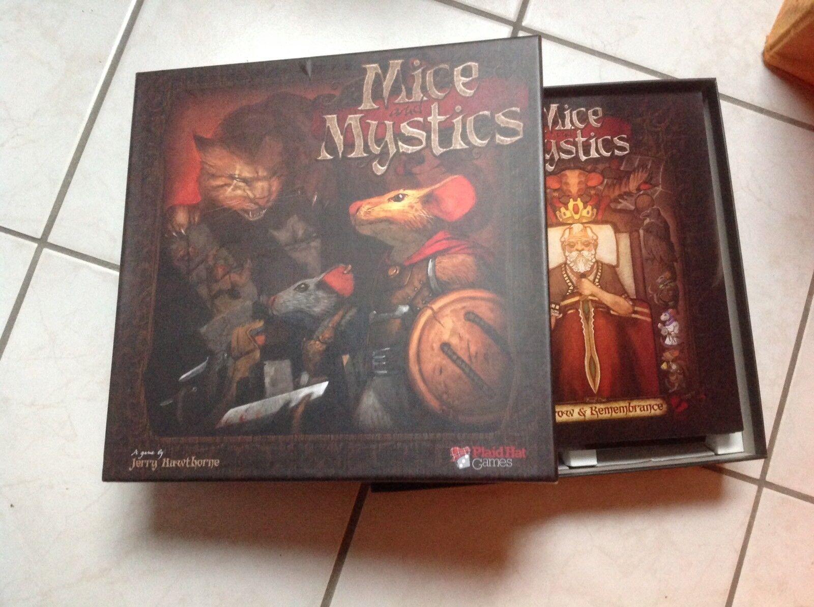 Mice e mystics inglese  Version Plaidhat  100% autentico