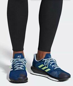ADIDAS-Solar-Drive-ST-Boost-running-shoes-men-039-s-10-5-Marine-White-Grey-D97453