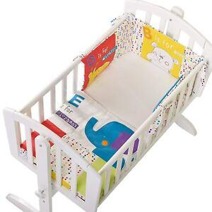 Obaby-B-is-for-BEAR-CRIB-SET-Nursery-Furniture-Happy-Safari-BN