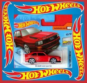 Hot-Wheels-2020-039-84-audi-Sport-Quattro-145-250-neu-amp-ovp