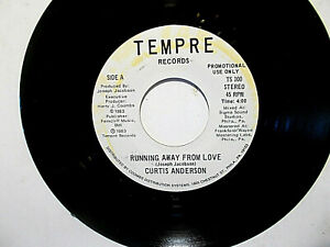 Funk-Soul-Boogie-CURTIS-ANDERSON-Running-Away-from-Love-same-WLP-NEAR-MINT