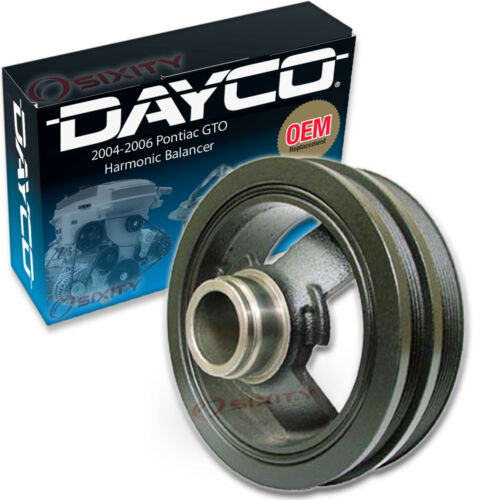 Dayco Engine Harmonic Balancer for 2004-2006 Pontiac GTO Cylinder Block  dl