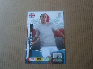 Carte adrenalyn panini - Euro 2012 - Angleterre - Rio Ferdinand