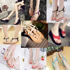 Womens Shoes Summer Wedges Heel Beach Sandals Flip Flops