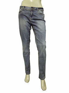 Womens Denim Skinny Fit Jeans Ash Size 14 Euro 40 C/&A C7