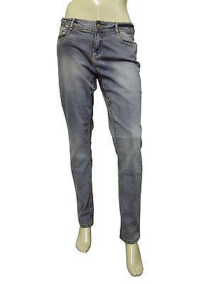 Short femme denim skinny fit jeans ash taille 14 euro 40 c/&a C7
