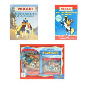 3er Set Yakari Bücher Vorlesebuch Mal Und Rätselspaß Dvd Und