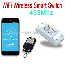 433Mhz Sonoff RF- WiFi Wireless Smart APP Home Switch + Receiver Remote Control