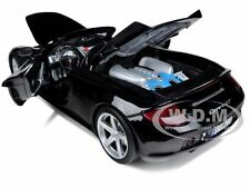 PORSCHE CARRERA GT BLACK W/BLACK INTERIOR 1/18 BY MOTORMAX 73163