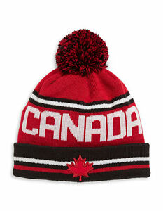 Image is loading PyeongChang-2018-Team-Canada-Olympic-Toque-Hat-Sizes- 428cac17da9