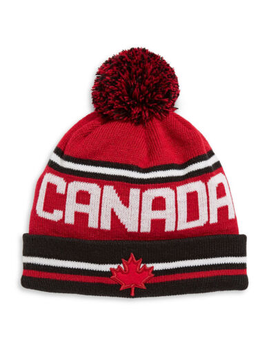 Sizes : Adult Toddler Youth PyeongChang 2018 Team Canada Olympic Toque Hat
