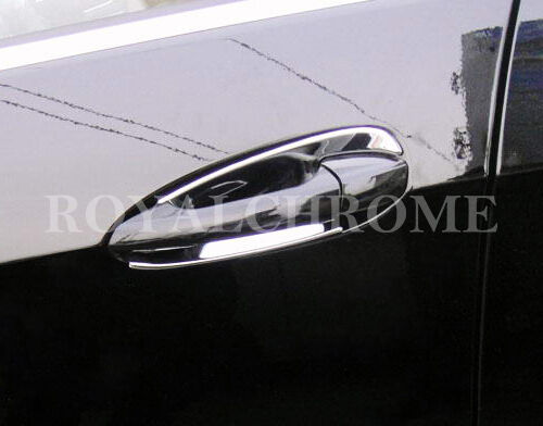 DELUXE Door Handle Cups x4 for Mercedes W212 E Class 09-16 AMG CHROME