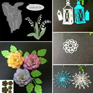 Flower-Metal-Cutting-Dies-Stencil-Scrapbooking-Card-Making-Craft-Embossing-DIY