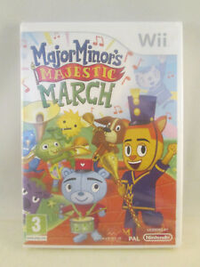 Nintendo-Wii-Major-Minor-039-s-Majestic-March-NEW-SEALED