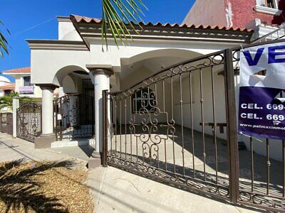 Casa en venta en Mazatlan en Fracc El Toreo 3 recamaras 2 cuadras de la Av Rafael Buelna
