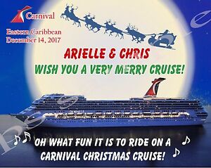 Christmas Carnival Cruise.Details About 8x10 Custom Cruise Door Magnet Christmas Moon Carnival Cruise Line